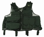 TG101B Black Utility Tactical VEST