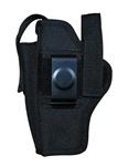 TG260B14-6 Black Ambidextrous BELT Holster with pouch Size 14 (6 pcs)