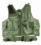 TG100A ACU Camouflage Deluxe Tactical Vest - 3L-INTL