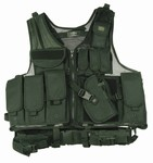 TG100B Black Deluxe Tactical Vest - 3L-INTL