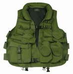 TG102G OD Green Tactical Vest with Soft Collar - 3L-INTL