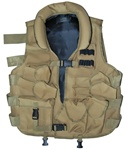 TG102T Tan Tactical Vest with Soft Collar - 3L-INTL
