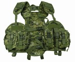 TG103W Woodland Digital Camo Vest with Hydration Pouch - 3L-INTL