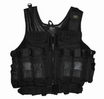 TG104B Black Deluxe Paintball Vest - 3L-INTL