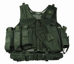 TG104BA Black Paintball Vest with Holster - 3L-INTL