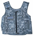 TG106A ACU Digital Camouflage Adjustable Quilted Tactical Vest - 3L-INTL