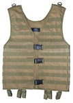 TG107T Tan MOLLE Web Tactical Vest - 3L-INTL
