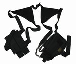TG208BA Black Shoulder Holster with One Holster and One Magazine Pouch - 3L-INTL