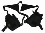 TG208BB Black Shoulder Holster with Two Holsters - 3L-INTL