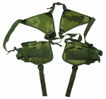 TG208CB Woodland Camouflage Shoulder Holster with Two Holsters - 3L-INTL