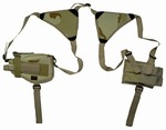 TG208DA Desert Camo Shoulder Holster with 1 Holster and 1 Magazine Pouch - 3L-INTL
