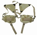 TG208DB Desert Camouflage Shoulder Holster with Two Holsters - 3L-INTL
