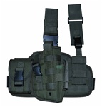 TG221GR OD Green Tactical Thigh Holster Right Handed - 3L-INTL