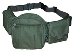 TG237G OD Green Deluxe Fanny Pack - 3L-INTL