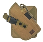 TG244TR Tan MOLLE Cross Draw Holster Right Handed - 3L-INTL