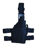 TG246B Black Tactical Leg Holster with Web Straps - 3L-INTL