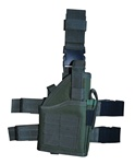 TG246G OD Green Tactical Leg Holster with Web Straps - 3L-INTL
