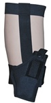 TG266BR16-6 Black Ankle Holster Right Handed Size 16 (6 pcs)