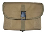 TG300T Tan MOLLE Gas Mask/Drum Magazine Pouch - 3L-INTL