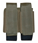 TG303T-4 Tan MOLLE Double 40MM Grenade/M16 Mag Pouch (4 pcs) - 3L-INTL