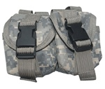 TG306A ACU Digital Camouflage MOLLE Hand Grenade Pouch - 3L-INTL